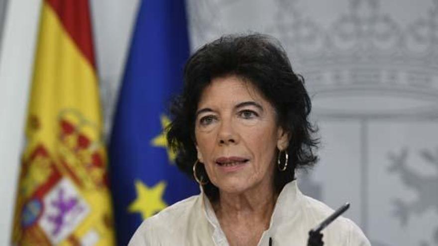 Isabel Celaá defiende corregir aspectos de la Lomce.