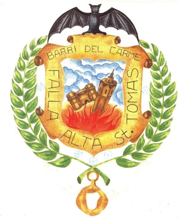 """Alta-Santo Tomás, que incluye en su nombre la expresión """"Barri del Carme"""""""