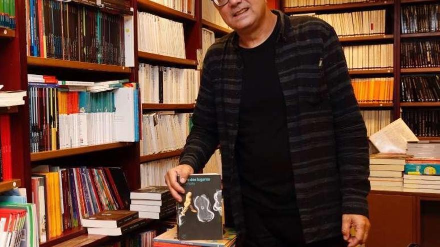 """Antón Patiño: """"Cada lugar ten unha dimensión física e outra metafísica"""""""
