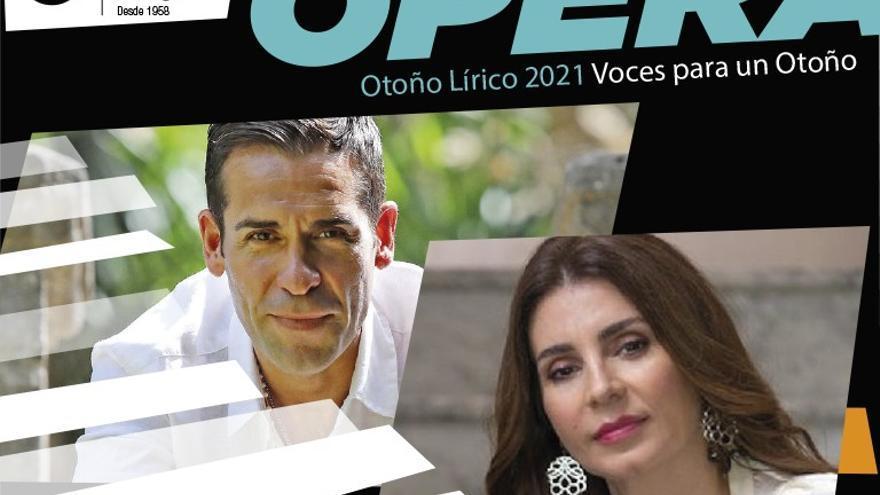 Otoño Lírico 2021. Ismael Jordi y Sabina Puértolas. Bel Canto Gala