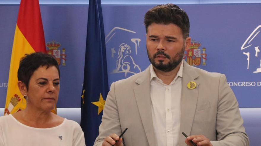 ERC i EH Bildu anuncien una abstenció a Sánchez per «responsabilitat»