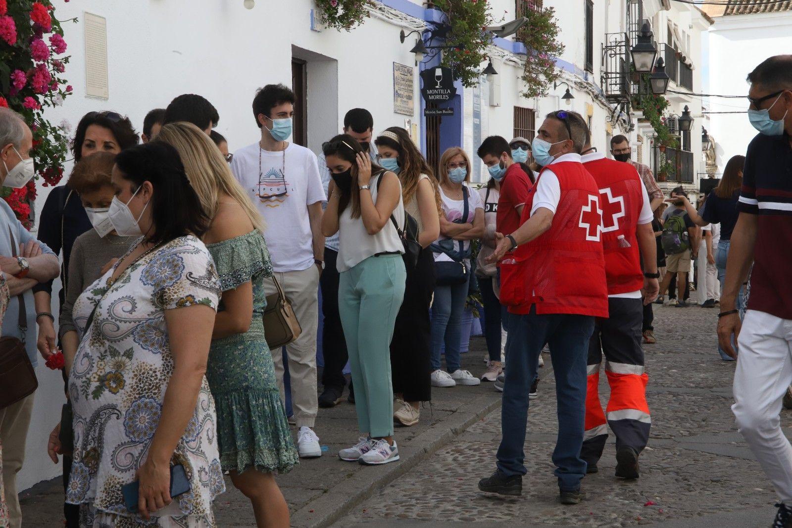 Colas en el primer fin de semana de los Patios de Córdoba