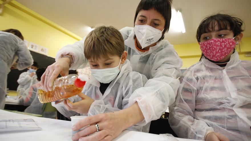 Jornadas de Ciencia en el colegio Cervantes de Gijón