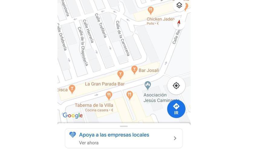 Así se puede apoyar a los pequeños negocios usando Google Maps