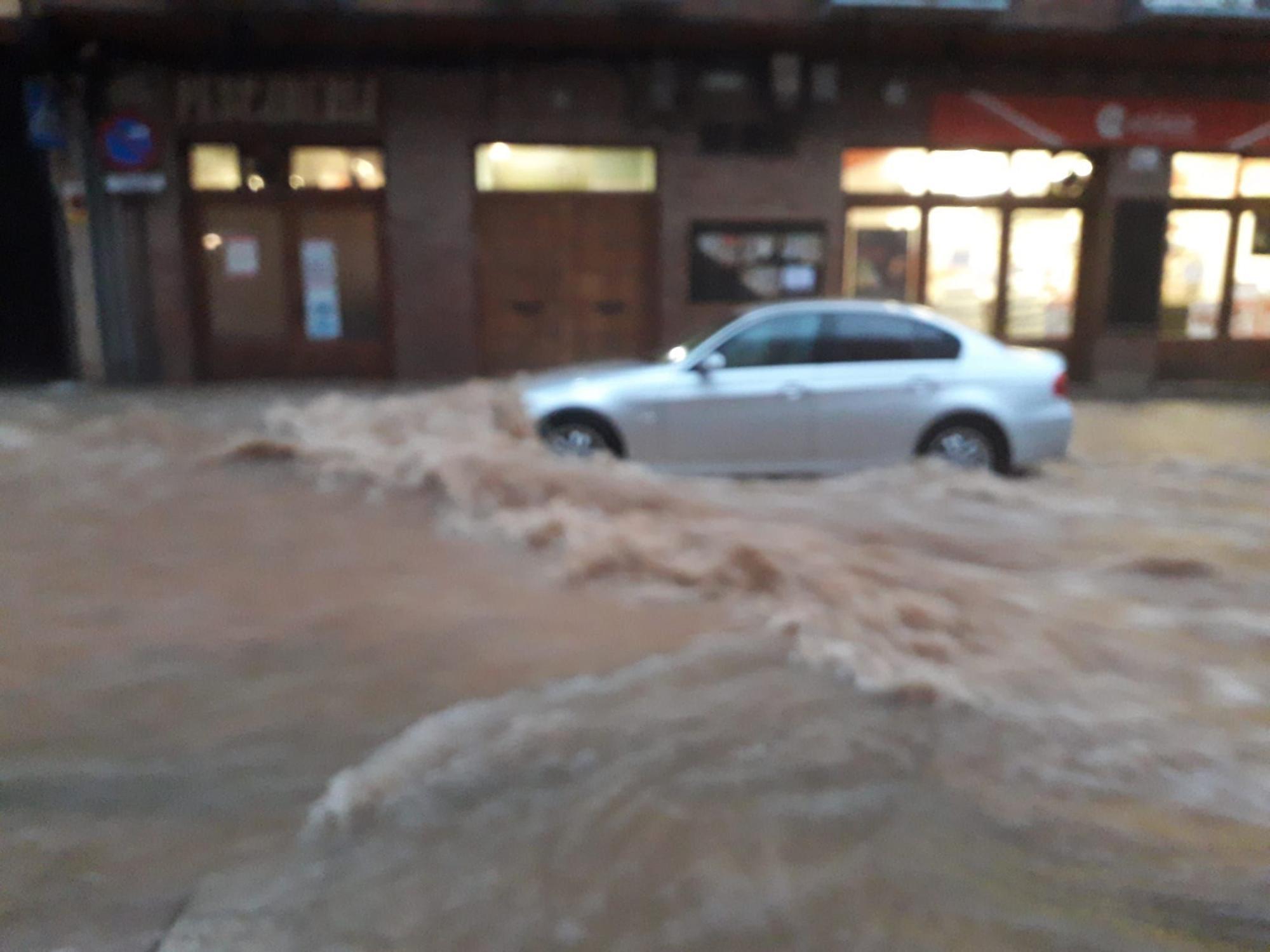 Daroca registró ayer precipitaciones históricas