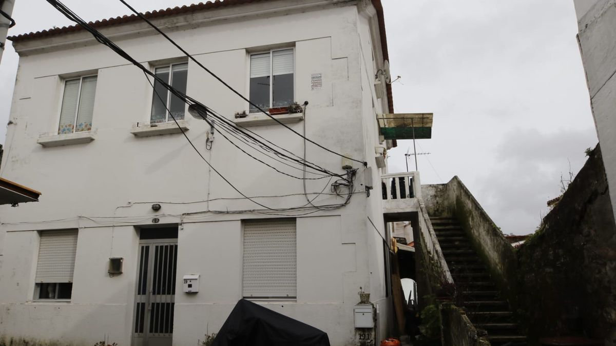 La vivienda de Ramón Nieto donde ocurrió el accidente. / Alba Villar