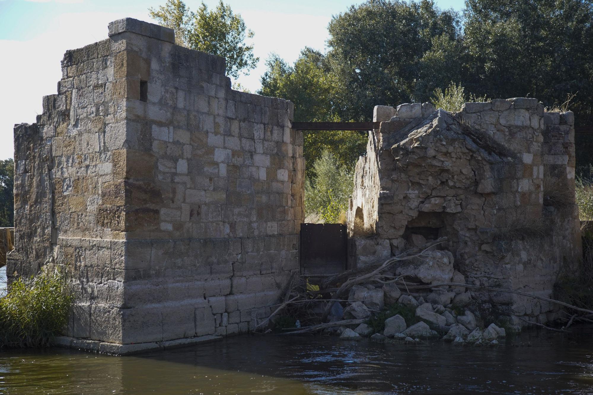 Las aceñas de Gijón, en riesgo de derrumbe