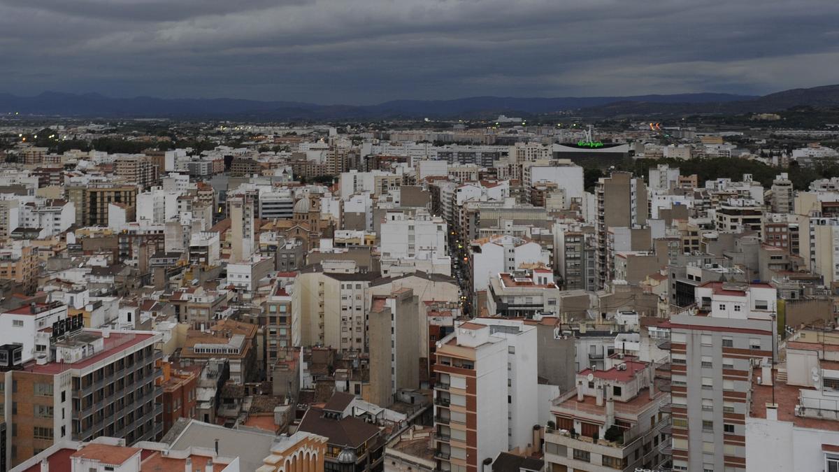 Imagen aérea de Castelló.