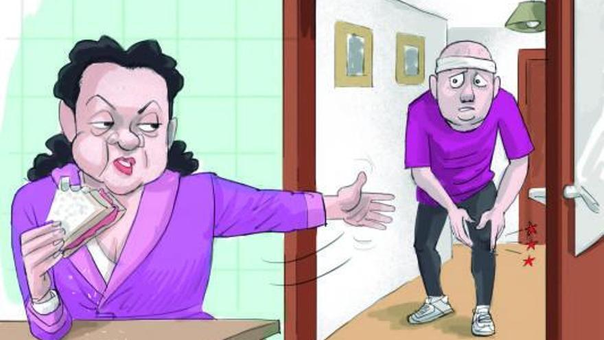 El síndrome del pasillo