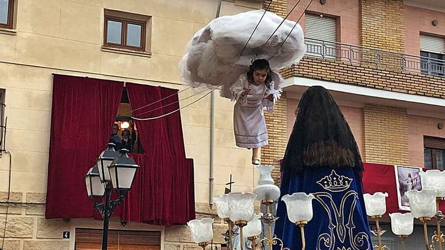 Alfarrasí recuerda el Angelet de la Corda con un castillo