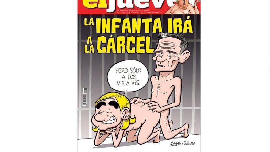 Nova portada polèmica d'El Jueves amb la monarquia de protagonista