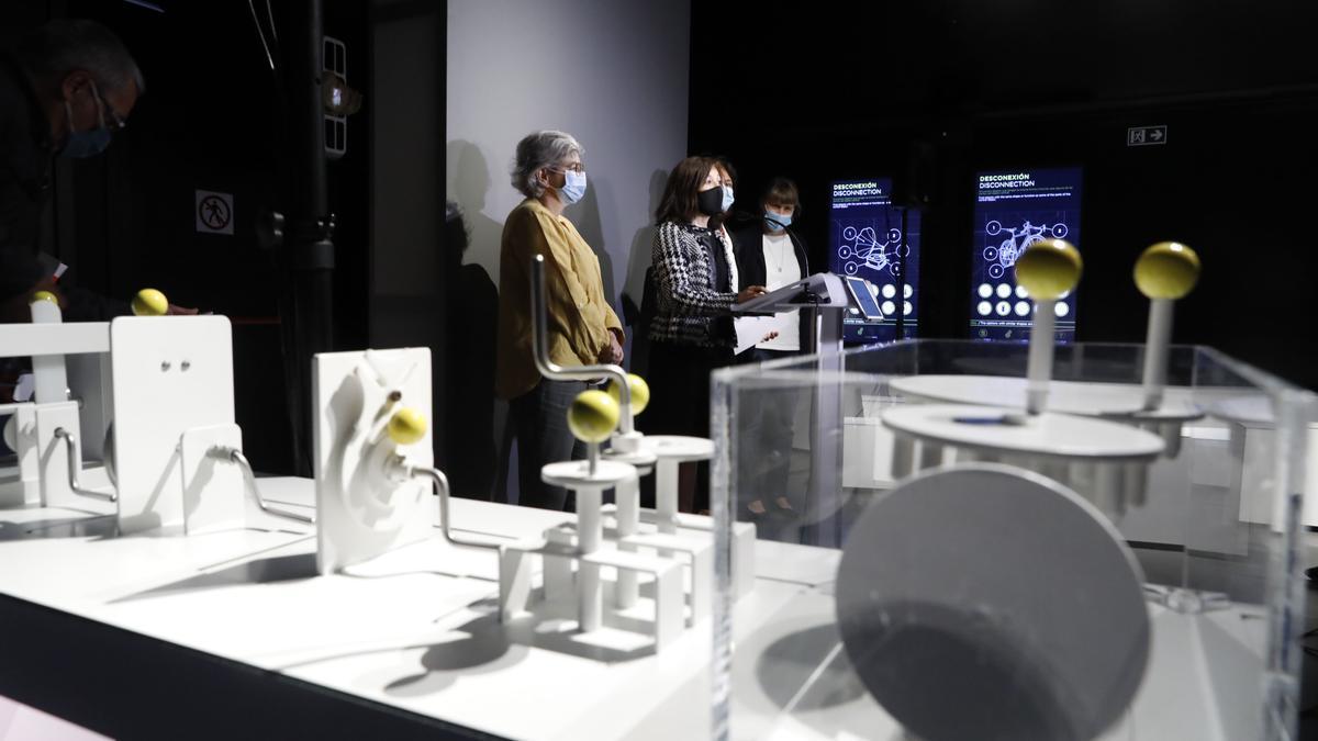 Exposición Leonardo Da Vinci en el Náutico
