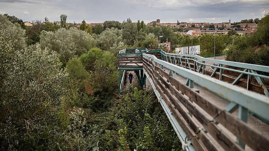 El PP exige una intervención de urgencia en la pasarela que une San Isidro y Valorio