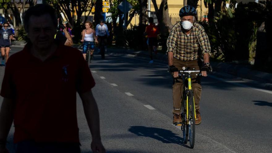 Málaga habilitará el carril 30 del paseo Pablo Ruiz Picasso para bicicletas