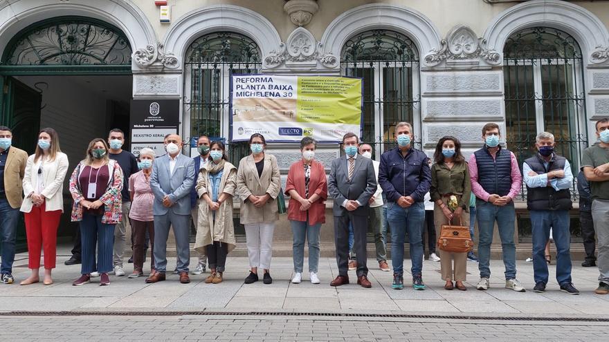 Pontevedra muestra su repulsa a la violencia machista