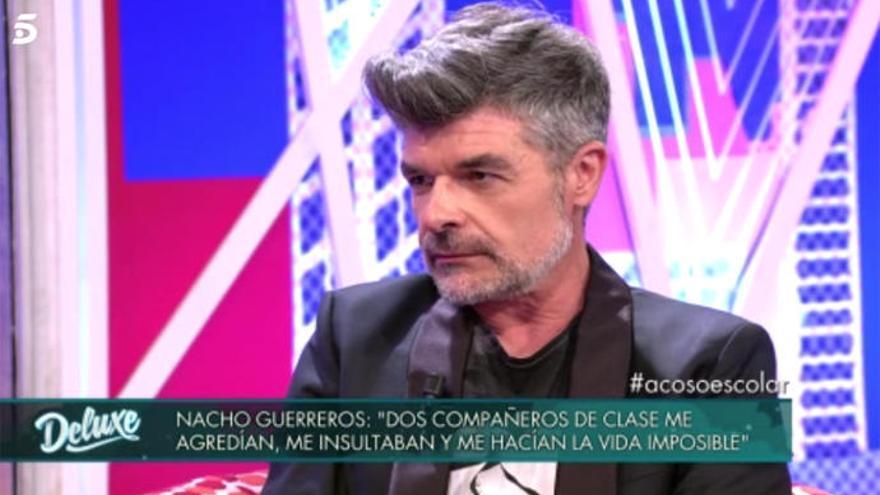 Nacho Guerreros narra la pesadilla que fue el instituto