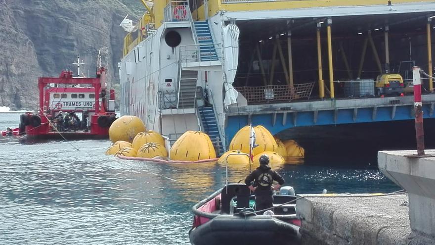 Fred. Olsen espera reanudar el  tráfico marítimo a partir del jueves