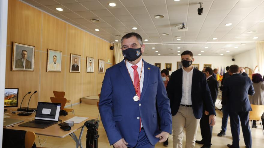 Ángel Luis Guerrero se estrena como alcalde de Sant Josep