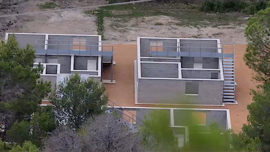 Denuncian la construcción de un poblado para «combates» del Ejército en una área natural de Palma