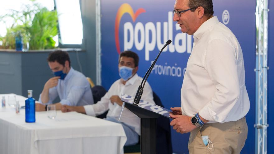 """Toni Pérez: """"El Consell se ha cargado la temporada turística y el verano de los alicantinos"""""""