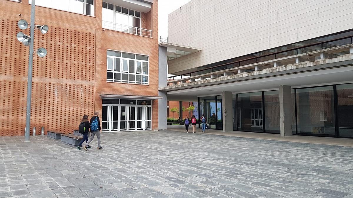 El Campus de Gandia en una imagen de archivo.