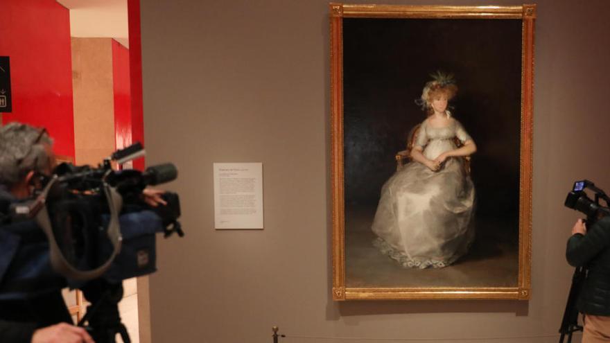 El Prado presenta la restauración de 'La condesa de Chinchón' de Goya