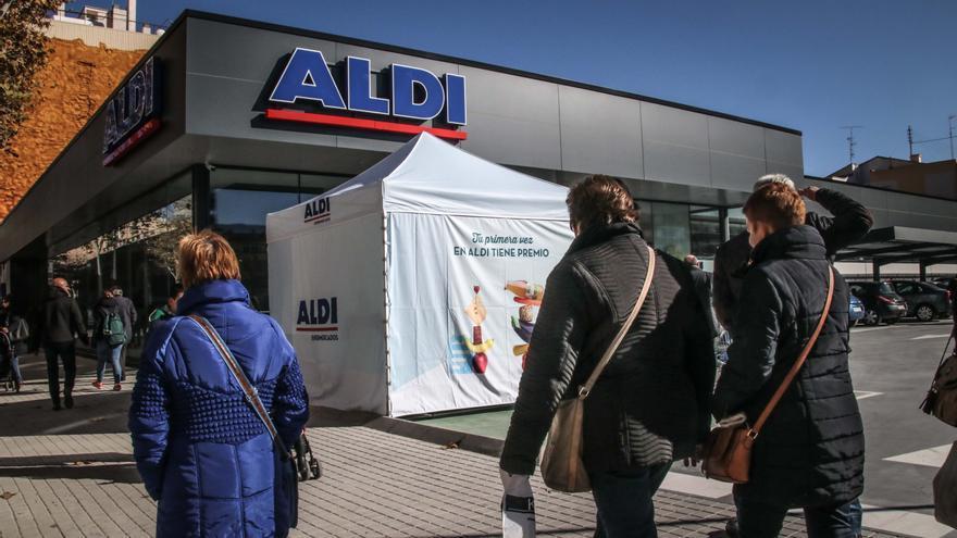 Aldi oferta 120 puestos de trabajo para supermercados en la Comunidad Valenciana