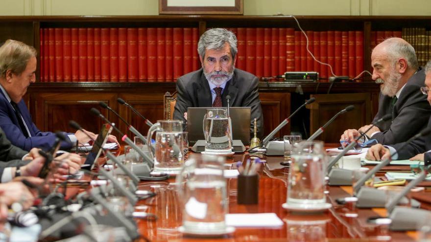 Vocales del CGPJ piden un Pleno Extraordinario contra la limitación de competencias