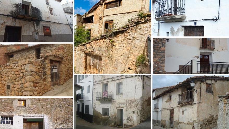Diez casas en el interior de Castellón por menos de 20.000 euros