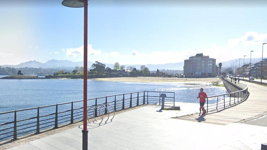 Muere el joven que se había golpeado contra el fondo del mar en Baiona