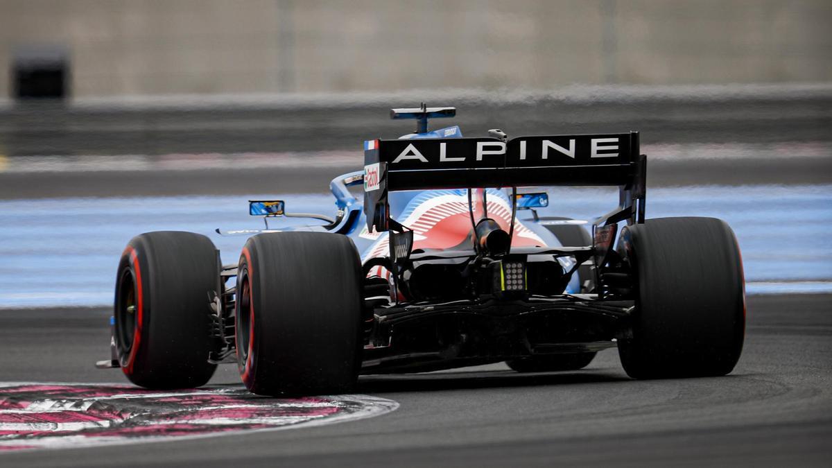 Una imagen de Fernando Alonso.