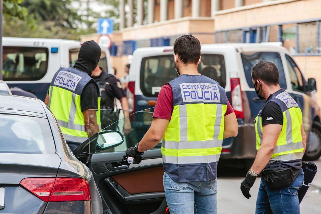 Intervención policial. Menudeo, gallos y tortugas en Ministriles, Lorca-3649.jpg