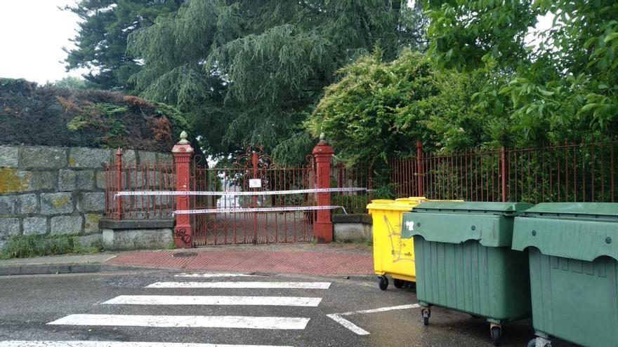 Vilagarcía mantiene cerrados sus parques por la alerta del temporal