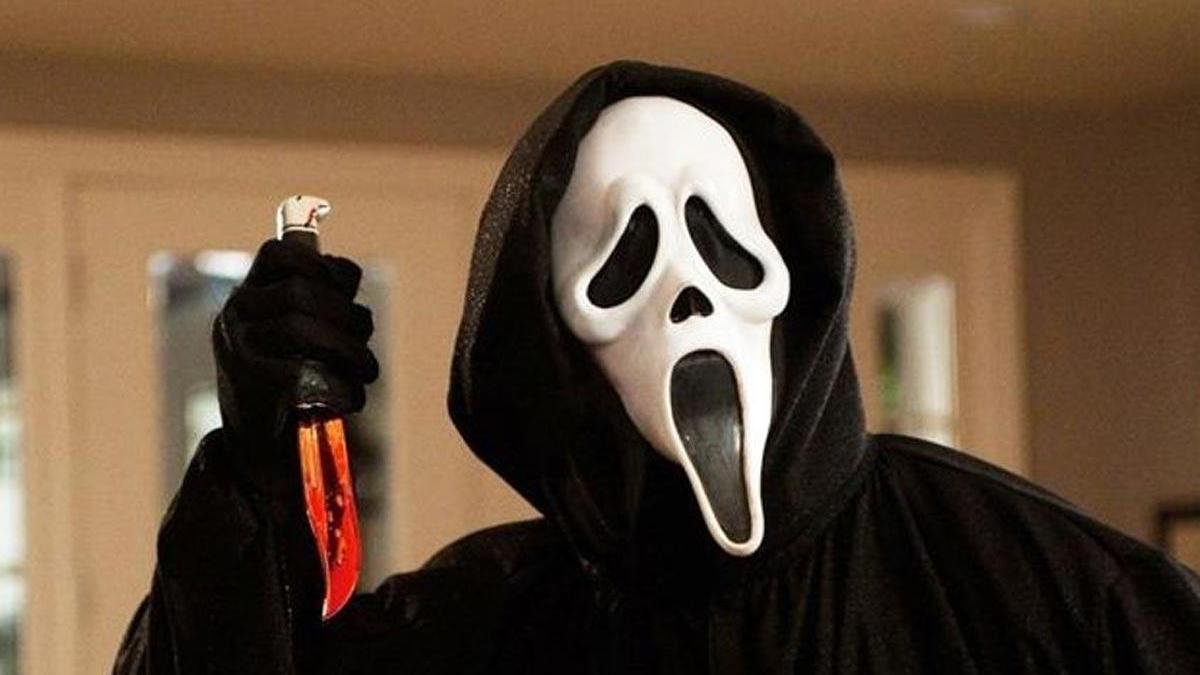 Una imagen de la saga 'Scream'.