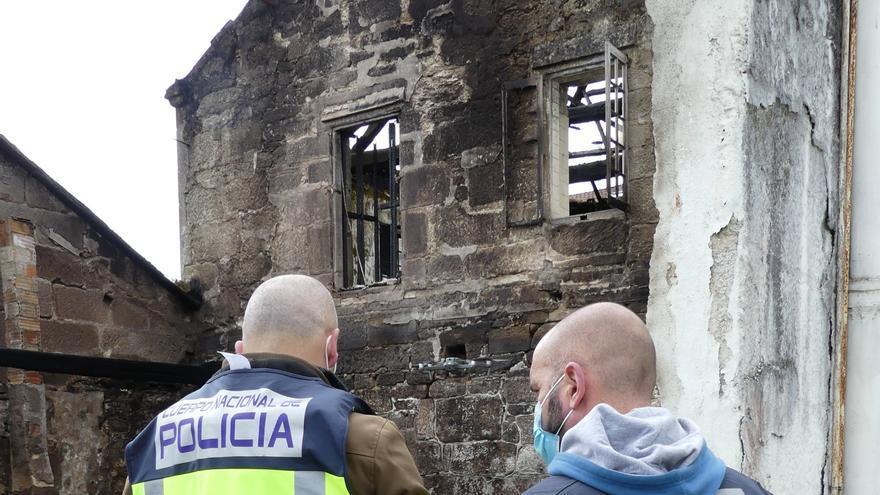 La Policía investiga con drones el incendio de la avenida de Uruguay