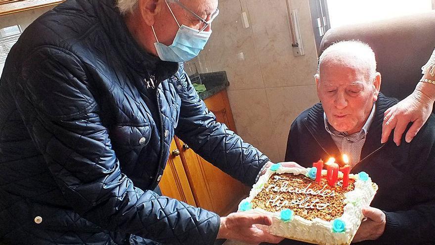Hipólito Cerqueiras,101 años de vida que contar