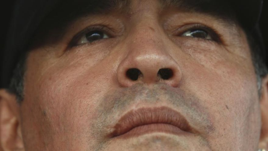 Maradona, el hombre mitológico