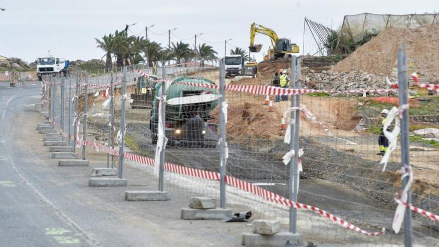Los impagos de Petrecan frenarán obras de carreteras en Teror, Mogán y Telde