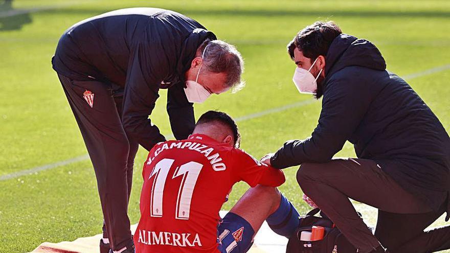 La ansiedad influye en las lesiones del delantero del Sporting Campuzano, según los expertos
