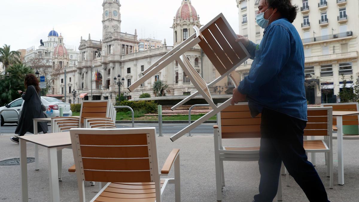 El tiempo en Valencia esta semana: ¿dará tregua la lluvia a las terrazas?