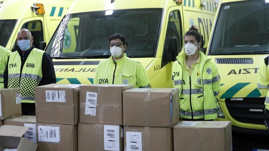 Un hospital vizcaíno usa urnas de votación para proteger a los sanitarios del virus