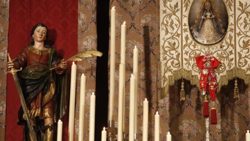 Comienza el triduo a la Virgen del Rocío en la iglesia de San Pablo