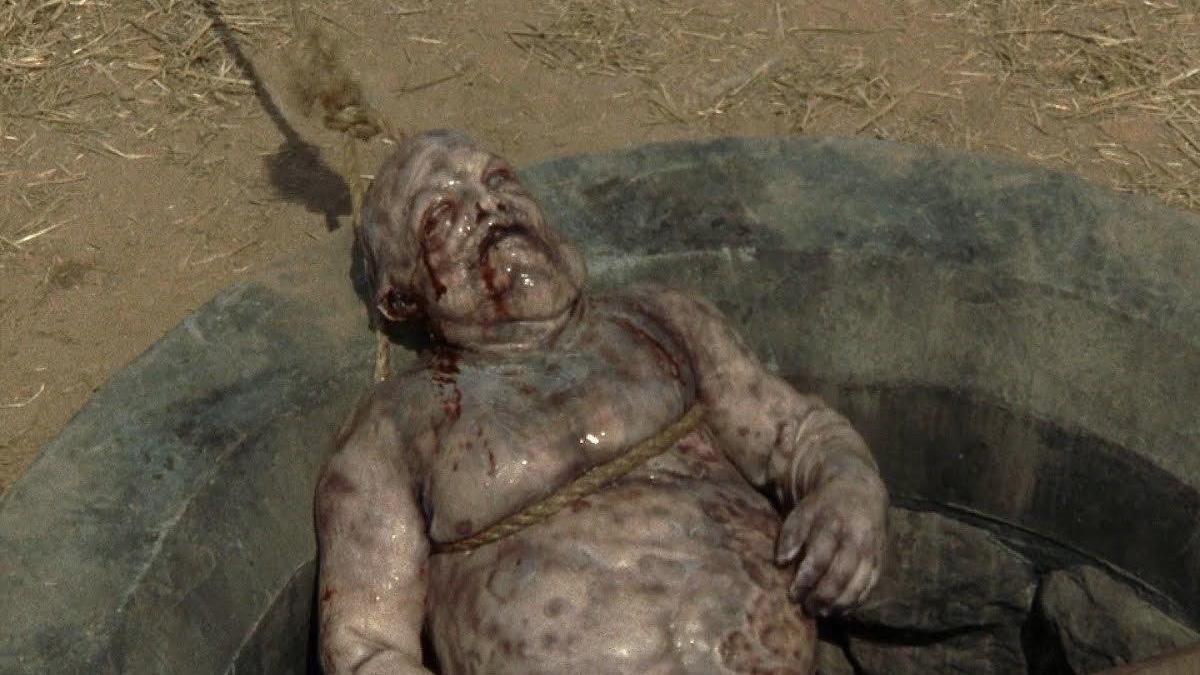 Un zombie en 'The Walking Dead'.