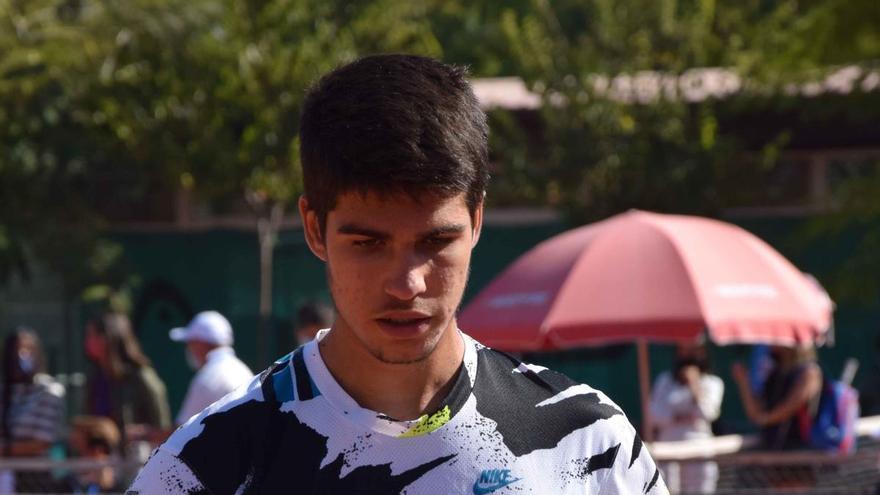 Carlos Alcaraz cae en primera ronda en Marbella