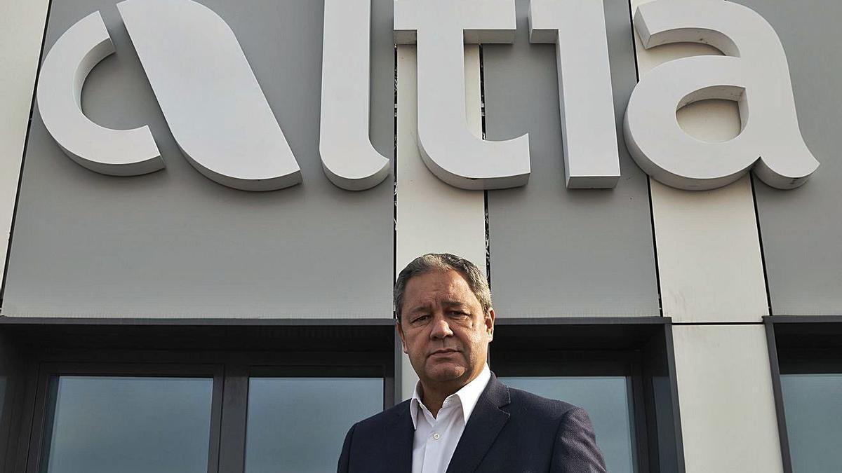 Tino Fernández, presidente de la consultora tecnológica Altia.   | // L.O.