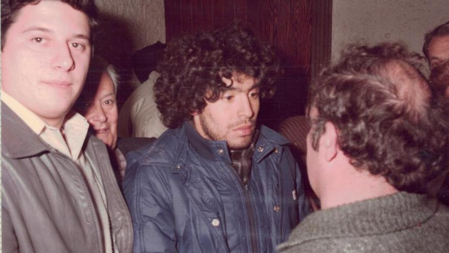 El dia que Maradona va visitar Cistella i Figueres