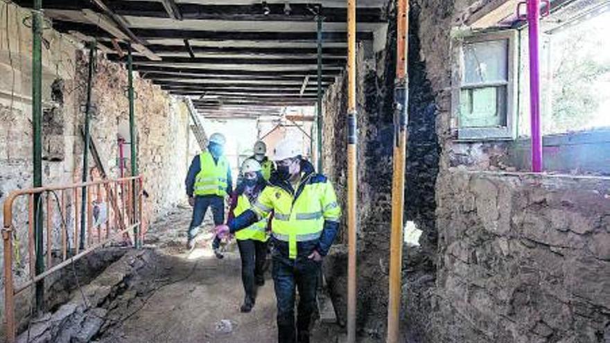 Sant Vicenç completarà enguany la rehabilitació monumental de Castellet