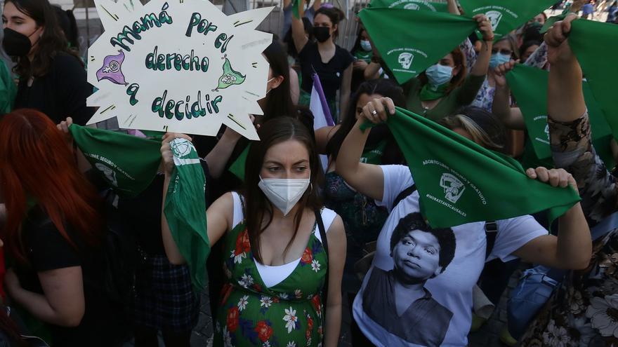 Las mujeres de Latinoamérica reivindican que se deje de criminalizar el aborto