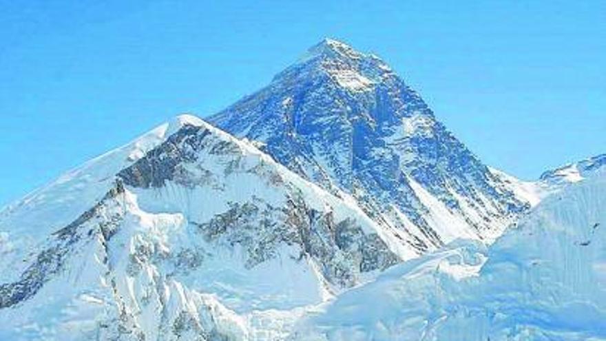 Midiendo  montañas consenso con la altura del Everest
