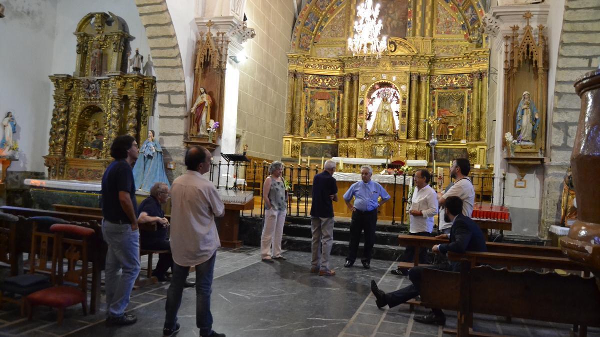 Una visita guiada al Santuario de La Carballeda, en Rionegro del Puente